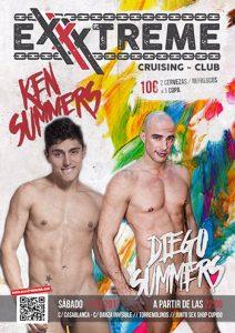 El sábado 11 de marzo, Ken Summers y Diego Summers en EXXXTREME