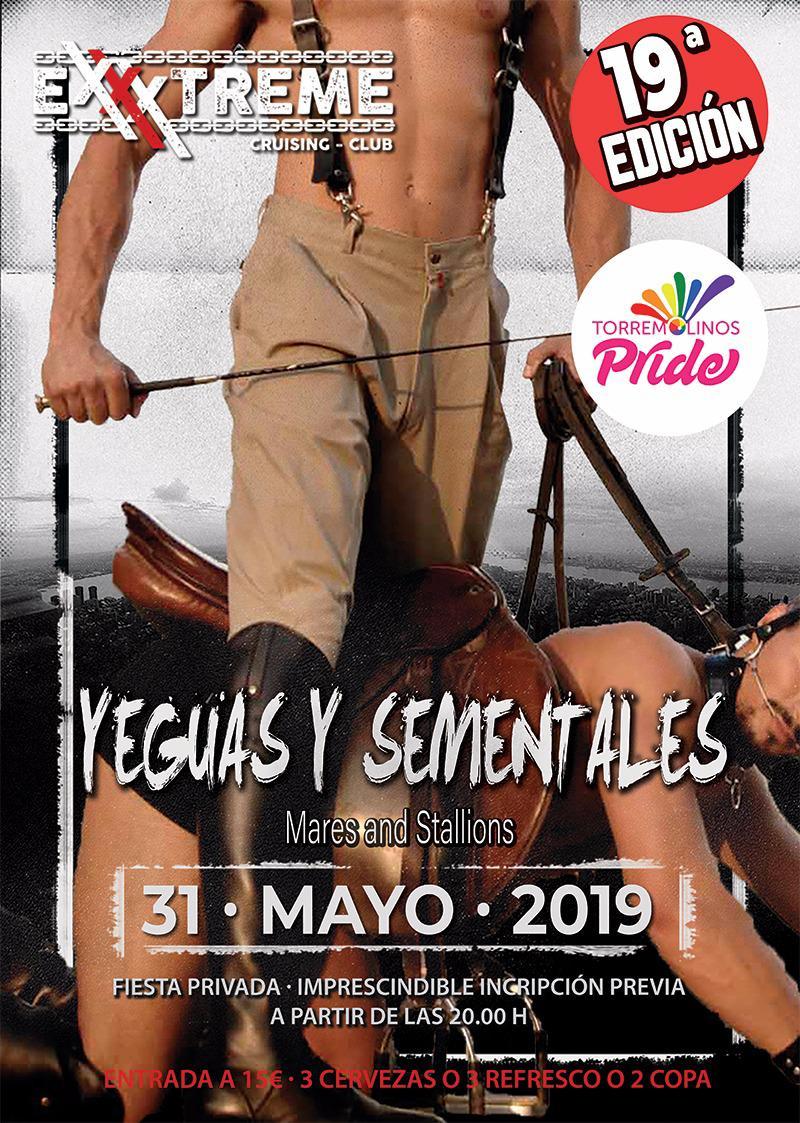 Yeguas y Sementales el próximo 31 de mayo en EXXXTREME