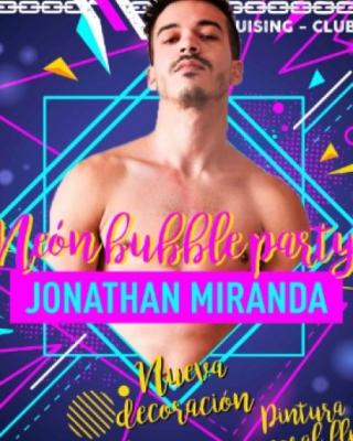 Neón Bubble Party con Jonathan Miranda En EXXXTREME CLUB