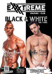 Fiesta Black & White con Rider Rivera y Andy Star en Exxxtreme