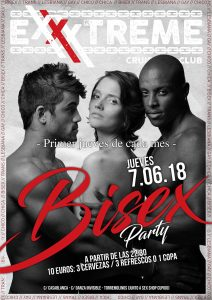 Vuelve la fiesta Bisex el primer jueves de cada mes