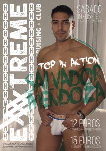 Sábado 20, Salvador Mendoza vuelve a EXXXTREME