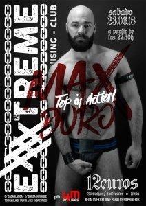 23 de junio Max Duro en EXXXTREME