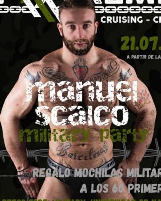 Manuel Scaico, el próximo 21 de julio en la military party de EXXXTREME