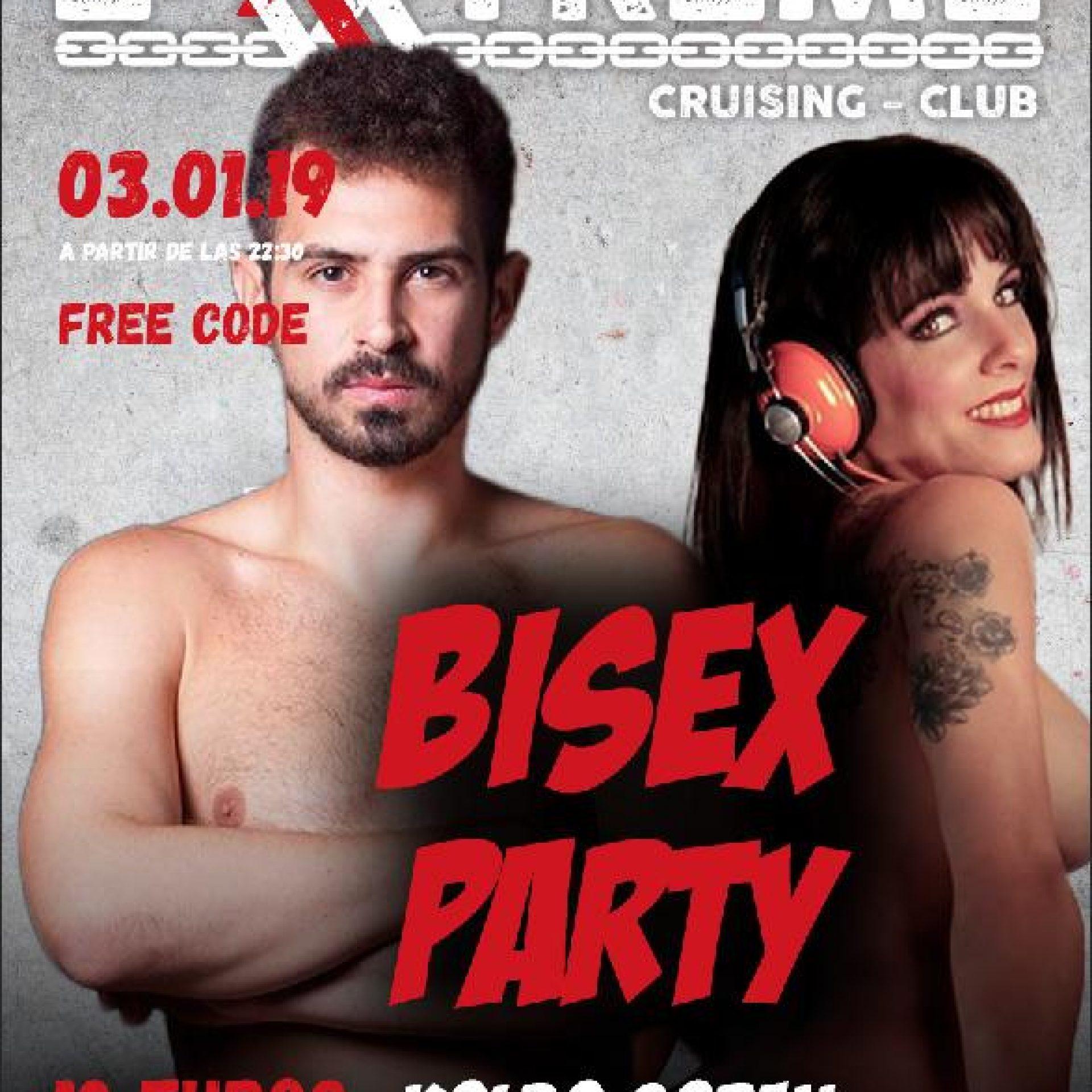 Bisex party 3 enero en EXXXTREME