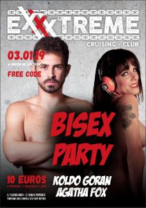 Bisex party 3 enero en EXXXTREME