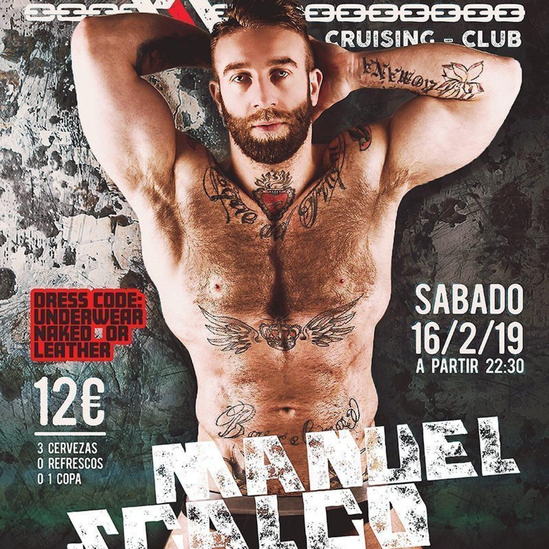 16 de febrero aniversario de boxer en exxxtreme con Manuel Scalco