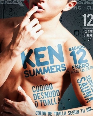 KEN SUMMER el próximo sábado 12 de enero en EXXXTREME CLUB