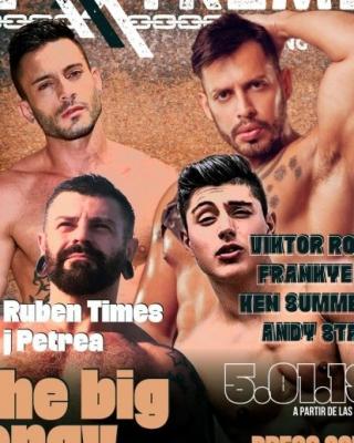 The Big Orgy con Viktor Rom, Frankie T, Ken Summer y Andy Star