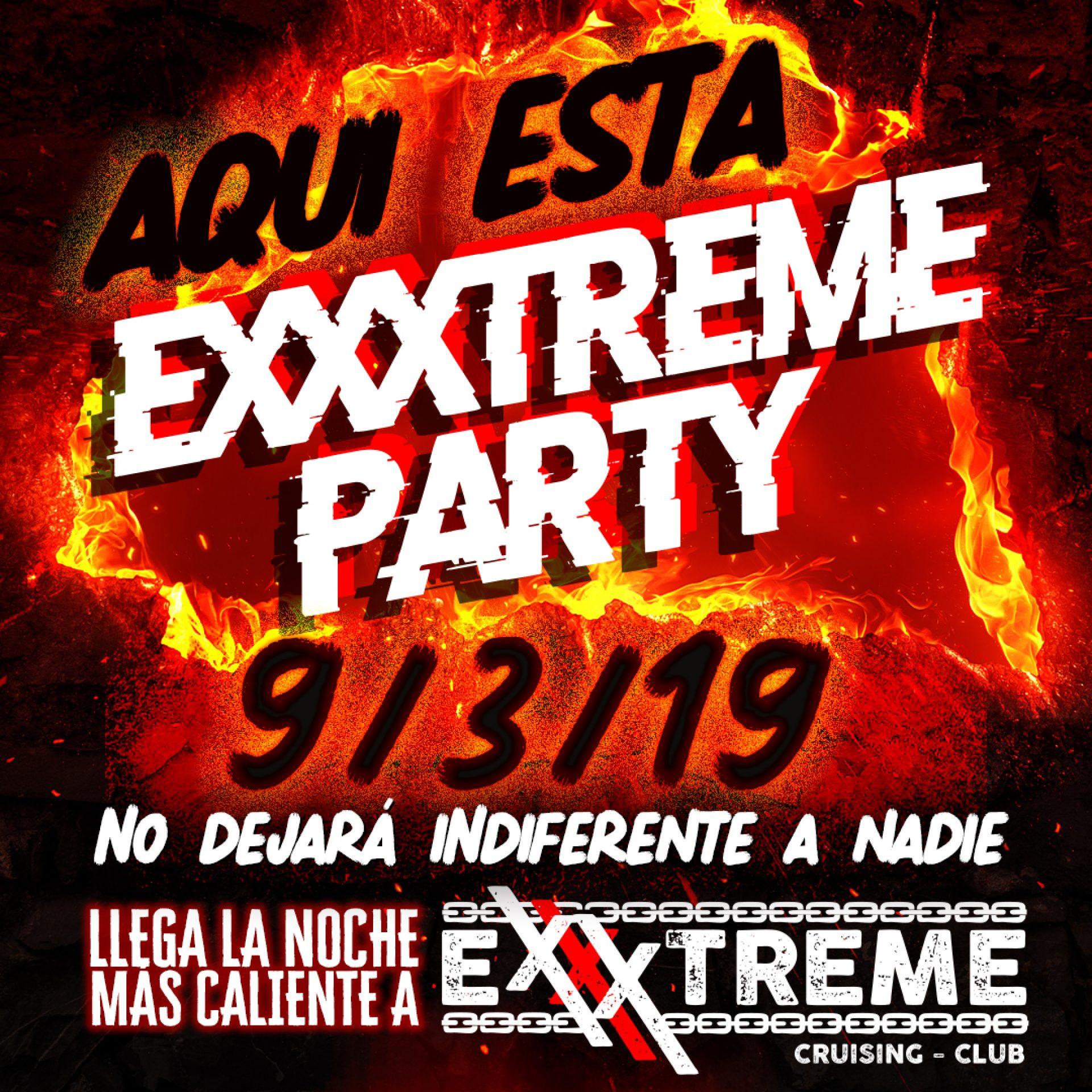 La fiesta exxxtrema ya está aquí