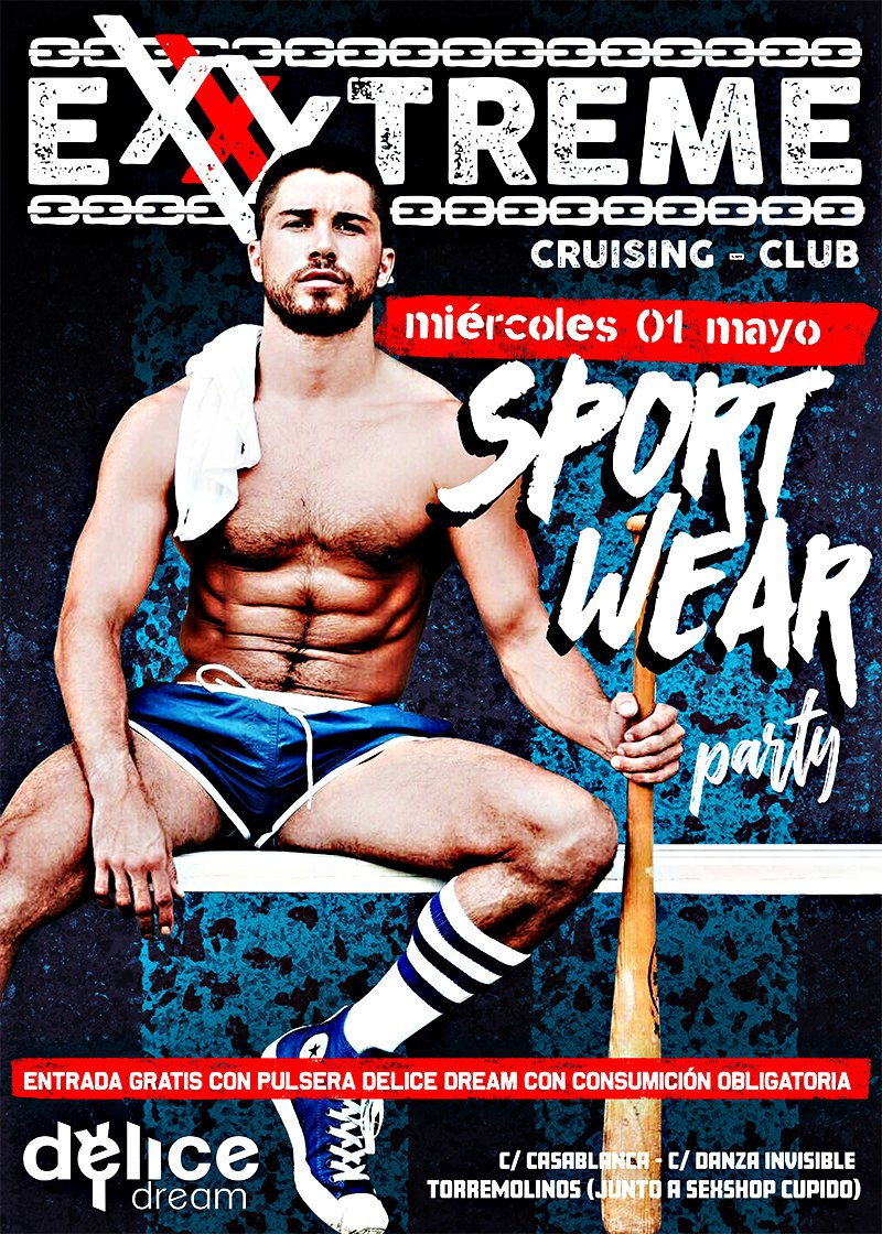 1 de mayo SPORT WEAR PARTY
