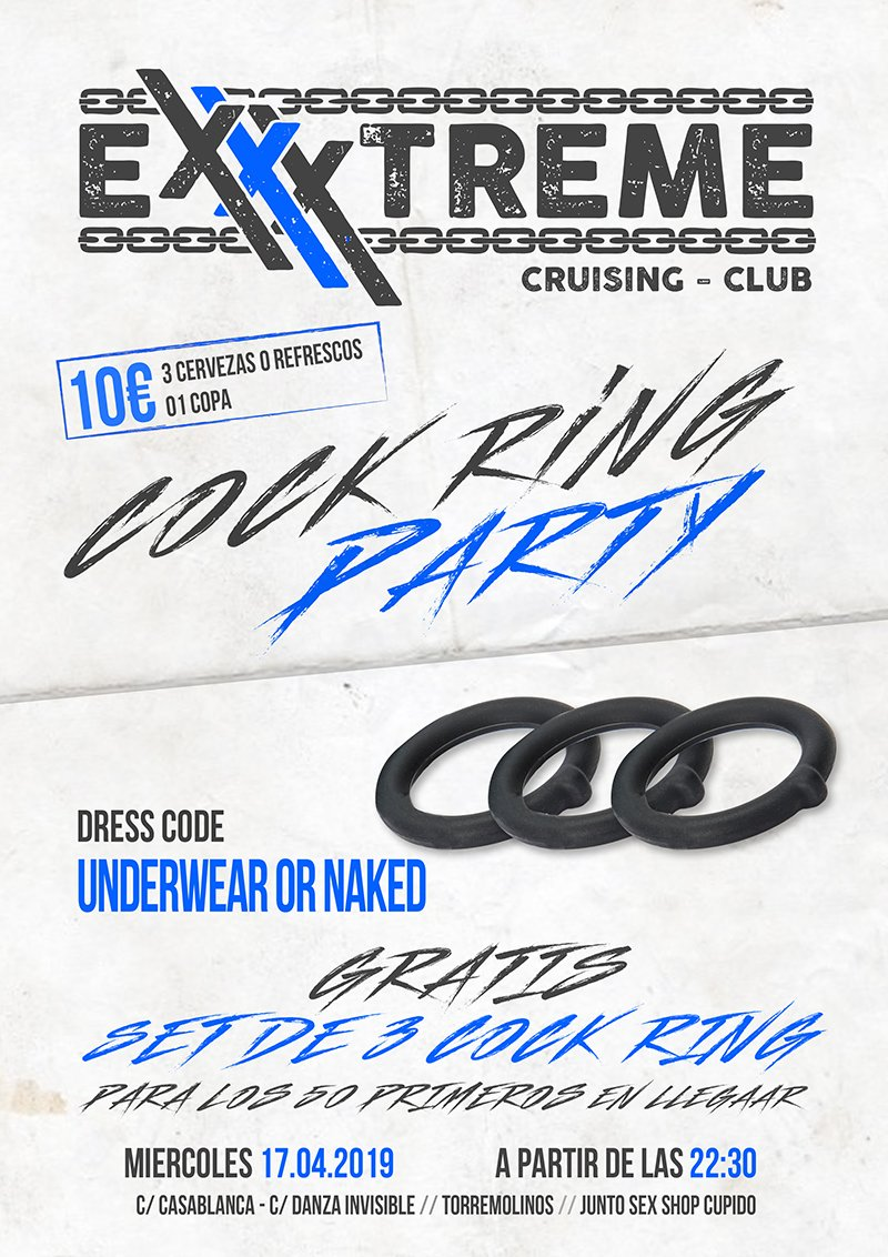 Cock Ring Party 17 de abril en EXXXTREME