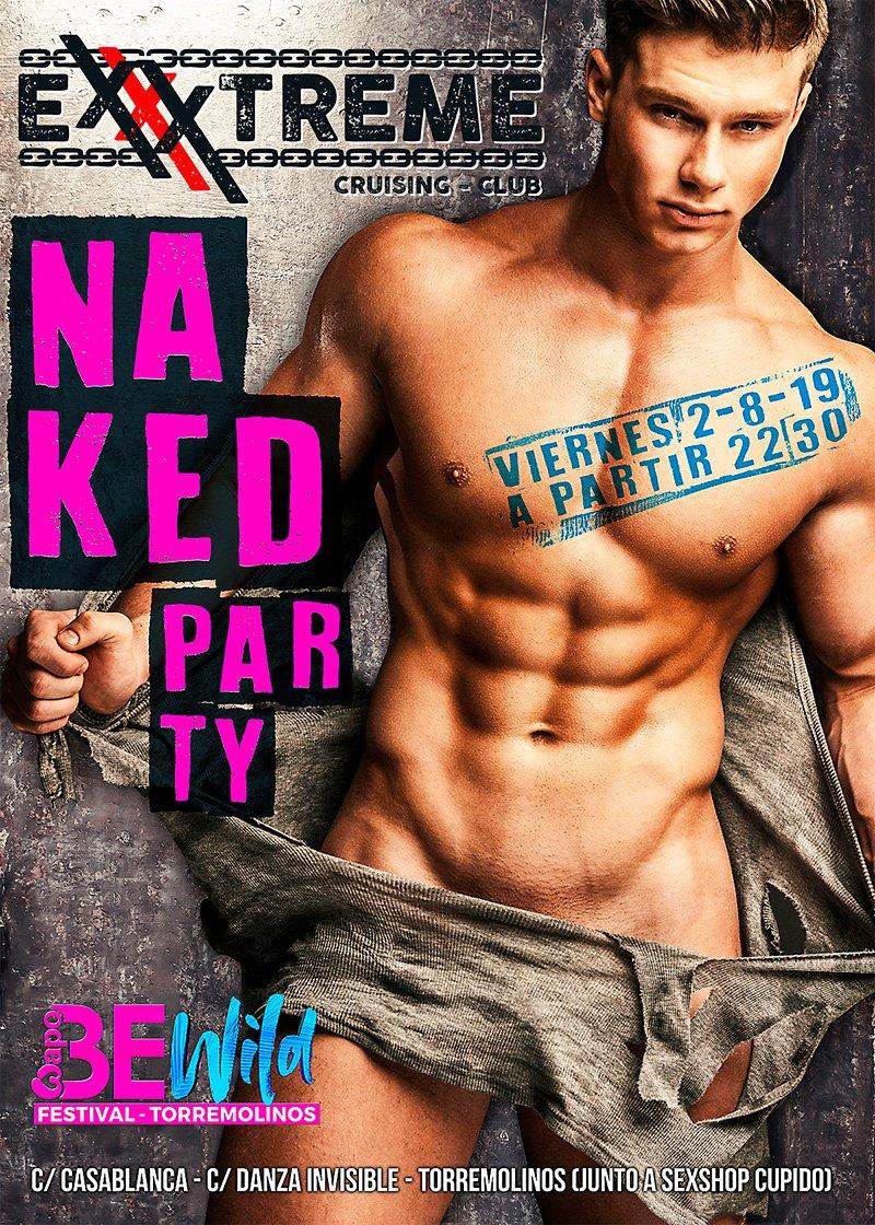 BeWild Naked Party en Exxxtreme