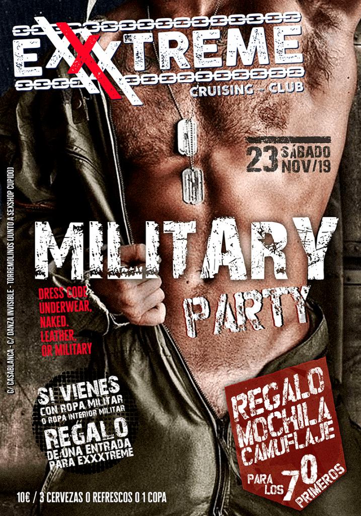 23 NOVIEMBRE MILITARY PARTY