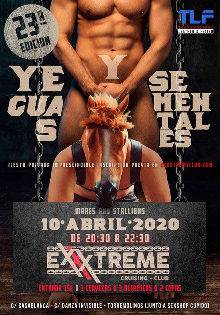 YEGUAS Y SEMENTALES DEL 10 DE ABRIL EN EXXXTREME