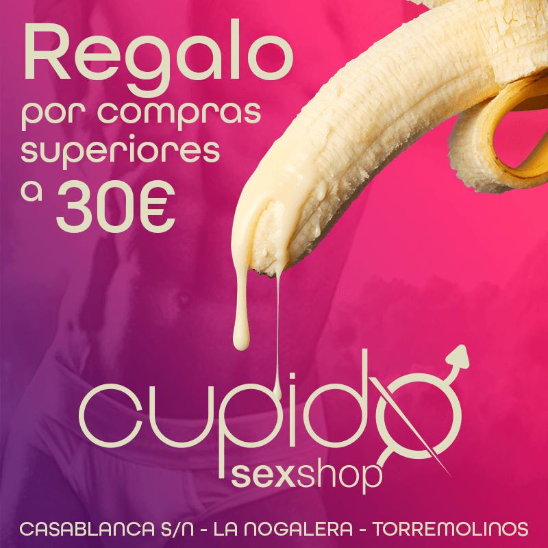 Regalo en SexShop Cupido por compras superiores a 30€