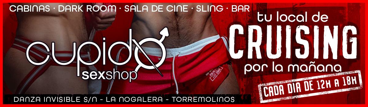 CRUISING CUPIDO CADA DÍA DE 12 A 18H