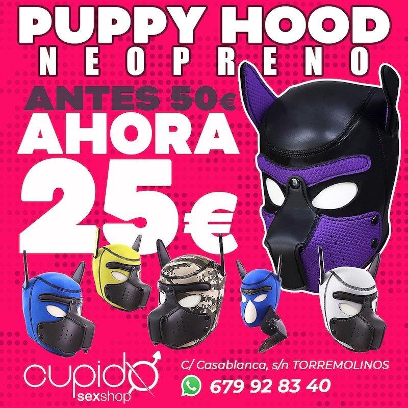 Máscaras PUPPY HOOD. Antes 50€. Ahora 25€!!